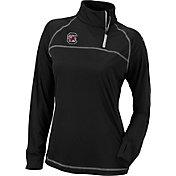 Columbia Women's South Carolina Gamecocks New Classic Quarter-Zip Black Shirt