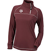 Columbia Women's Texas A&M Aggies Maroon New Classic Quarter-Zip Shirt