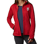 Columbia Women's Wisconsin Badgers Red Darling Days Full-Zip Hoodie