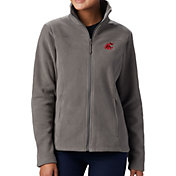 Columbia Women's Washington State Cougars Grey Give & Go Full-Zip Jacket