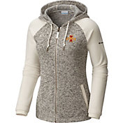 Columbia Women's Iowa State Cyclones Darling Days Full-Zip White Hoodie