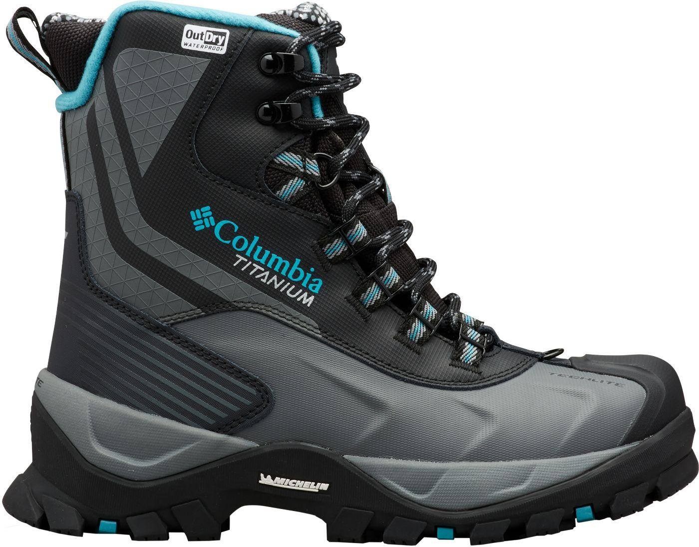 Columbia Women's Powderhouse Titanium Omni-Heat 3D OutDRY 600g Waterproof Winter Boots