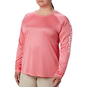 Columbia Women's Plus Size PFG Tidal Tee Long Sleeve Shirt