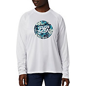 Columbia Women's Tidal Tee PFG Printed Medallion Long Sleeve Shirt