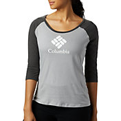 Columbia Women's Lodge Three-Quarter Sleeve T-Shirt
