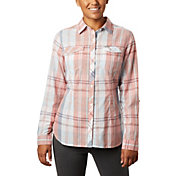 Columbia Women's Camp Henry II Long Sleeve Collared Shirt