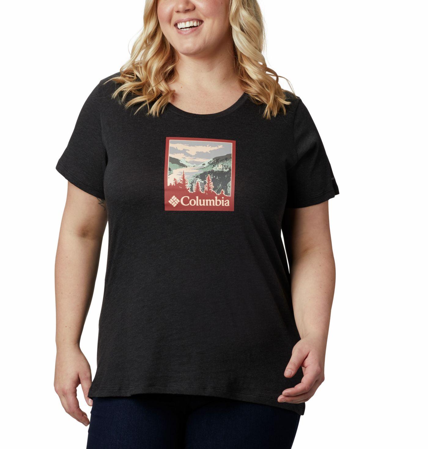 Columbia Women's Hidden Lake Graphic Crew T-Shirt