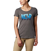 Columbia Women's Hidden Lake Graphic Crew T-Shirt
