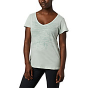 Columbia Women's Hidden Lake Graphic V-Neck T-Shirt