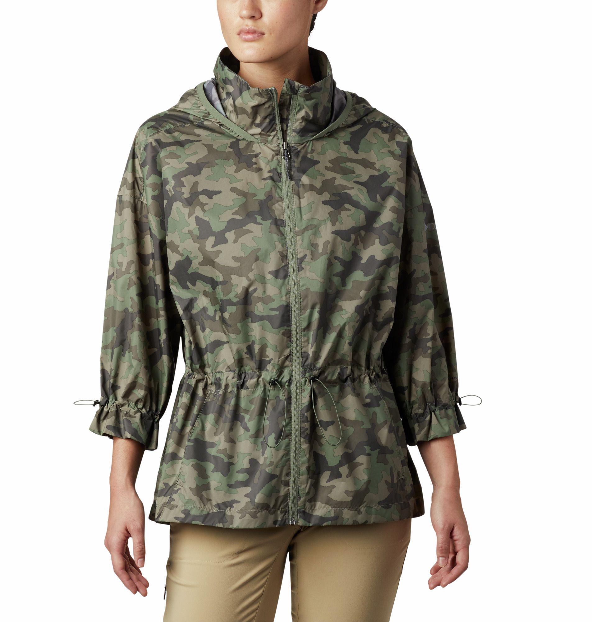 Columbia Women's Poe Creek Jacket, Size: Medium, Cypress Traditional Camo thumbnail