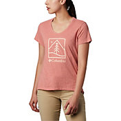 Columbia Women's Rose Summit Graphic T-Shirt