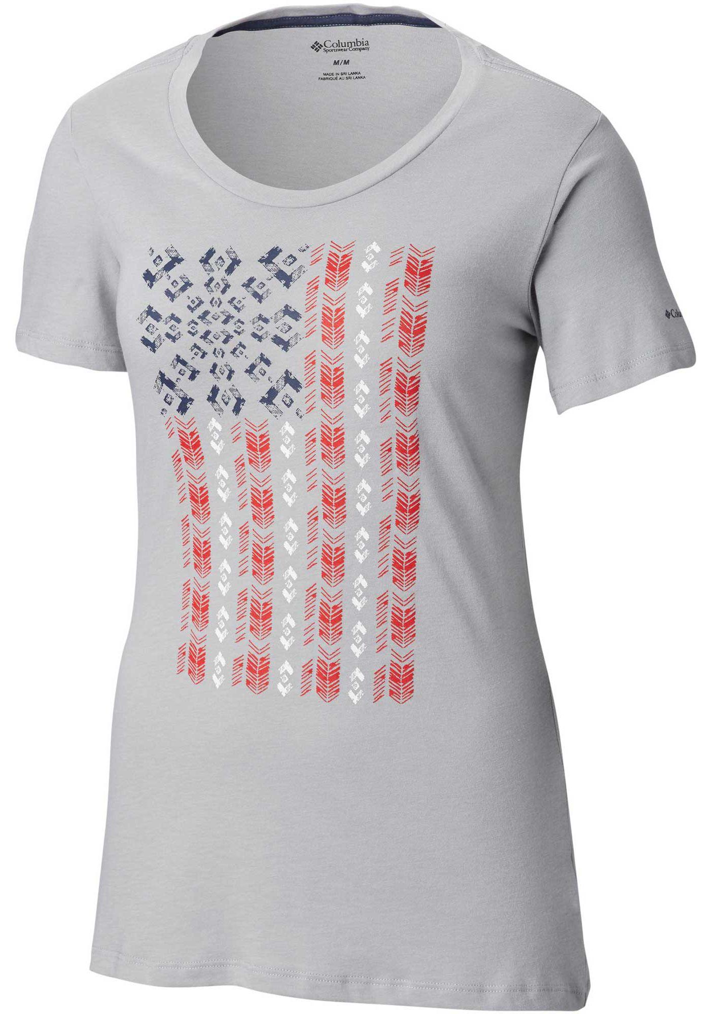 Columbia Women's Show Your Flag T-Shirt