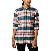 Columbia Women's Silver Ridge 2.0 Flannel Tunic Button Down Shirt