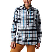 Columbia Women's Silver Ridge 2.0 Flannel Tunic Button Down Shirt