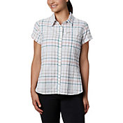 Columbia Women's Silver Ridge Novelty Short Sleeve Top