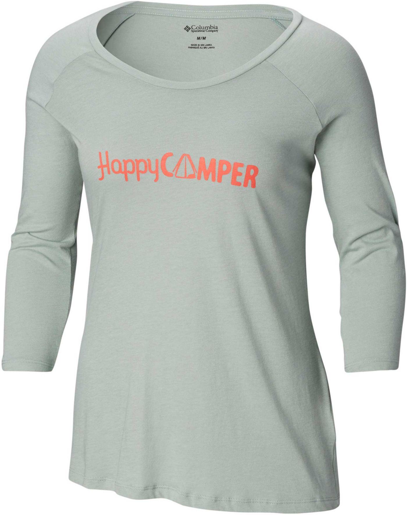 Columbia Women's Weekend Explorer 3/4 T-Shirt