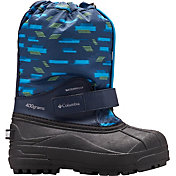 Columbia Kids' Powderbug Forty Print 400g Waterproof Winter Boots