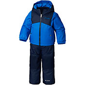 Columbia Youth Reversible Double Flake Jacket and Bib Set