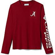 Columbia Youth Alabama Crimson Tide Crimson Terminal Tackle Long Sleeve T-Shirt