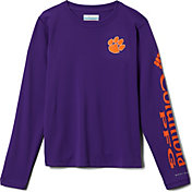 Columbia Youth Clemson Tigers Regalia Terminal Tackle Long Sleeve T-Shirt