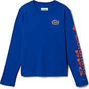 Columbia Youth Florida Gators Blue Terminal Tackle Long Sleeve T-Shirt