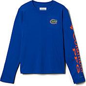 Columbia Youth Florida Gators Blue Terminal Tackle Long Sleeve T-Shirt