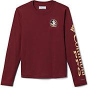 Columbia Youth Florida State Seminoles Garnet Terminal Tackle Long Sleeve T-Shirt