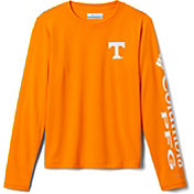 Columbia Youth Tennessee Volunteers Tennessee Orange Terminal Tackle Long Sleeve T-Shirt