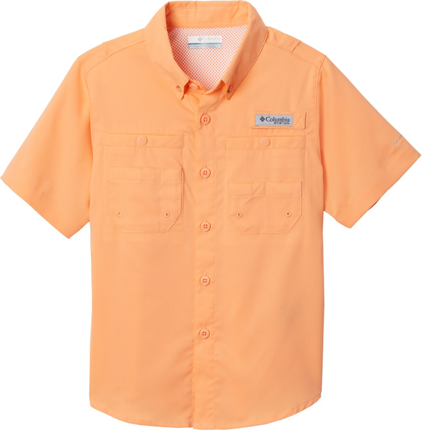 Columbia Youth Tamiami Button Down Short Sleeve Shirt