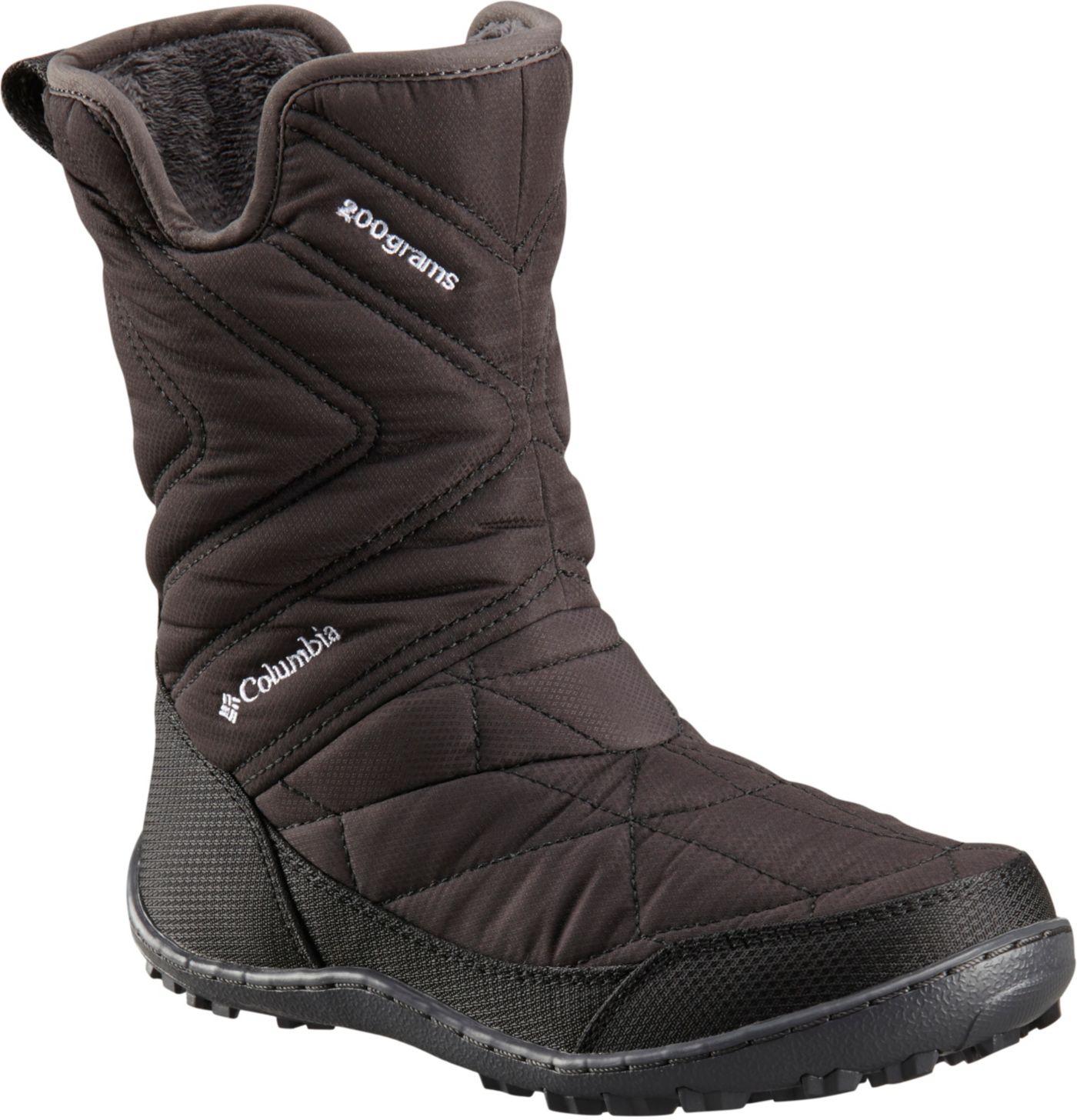 Columbia Kids' Minx Slip III 200g Waterproof Winter Shoes