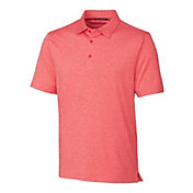 Cutter & Buck Men's Forge Heather Golf Polo