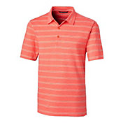 Cutter & Buck Men's Forge Heather Stripe Golf Polo