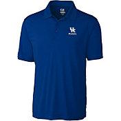 Cutter & Buck Men's Kentucky Wildcats Blue Northgate Polo
