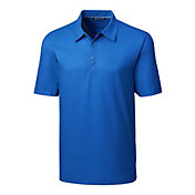 Cutter & Buck Men's Pike Mini Print Golf Polo – Big & Tall