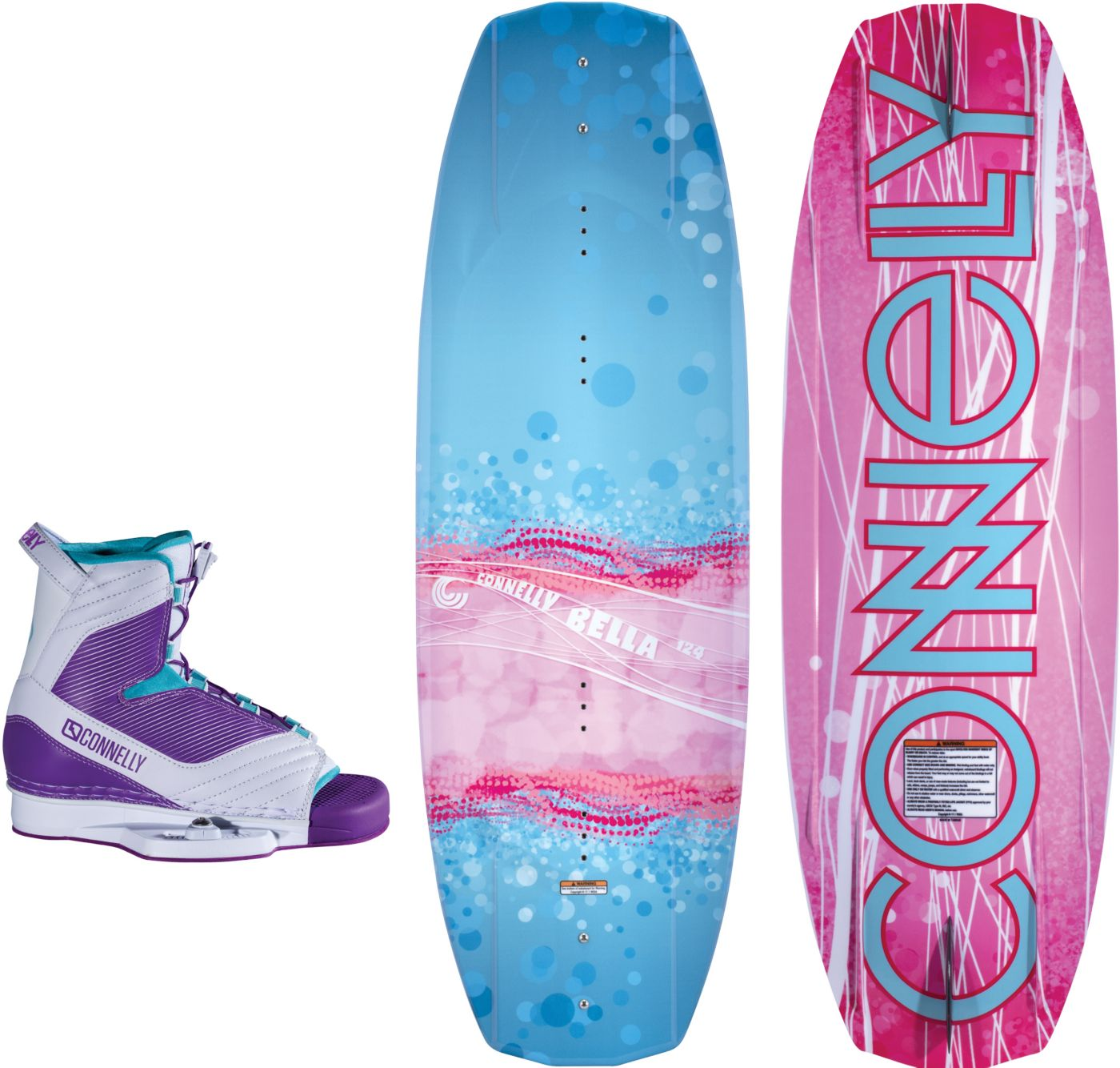 Connelly Youth Bella 124 Wakeboard Combo