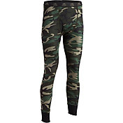 Indera Men's Woodland Camo Thermal Bottom