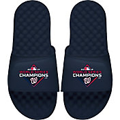 ISlide 2019 World Series Champions Washington Nationals Navy Sandals
