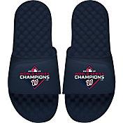 ISlide Youth 2019 World Series Champions Washington Nationals Navy Sandals