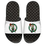 ISlide Custom Boston Celtics Sandals