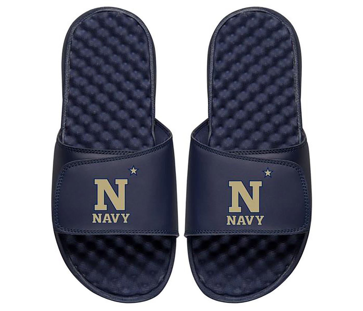 ISlide Navy Midshipmen Sandals