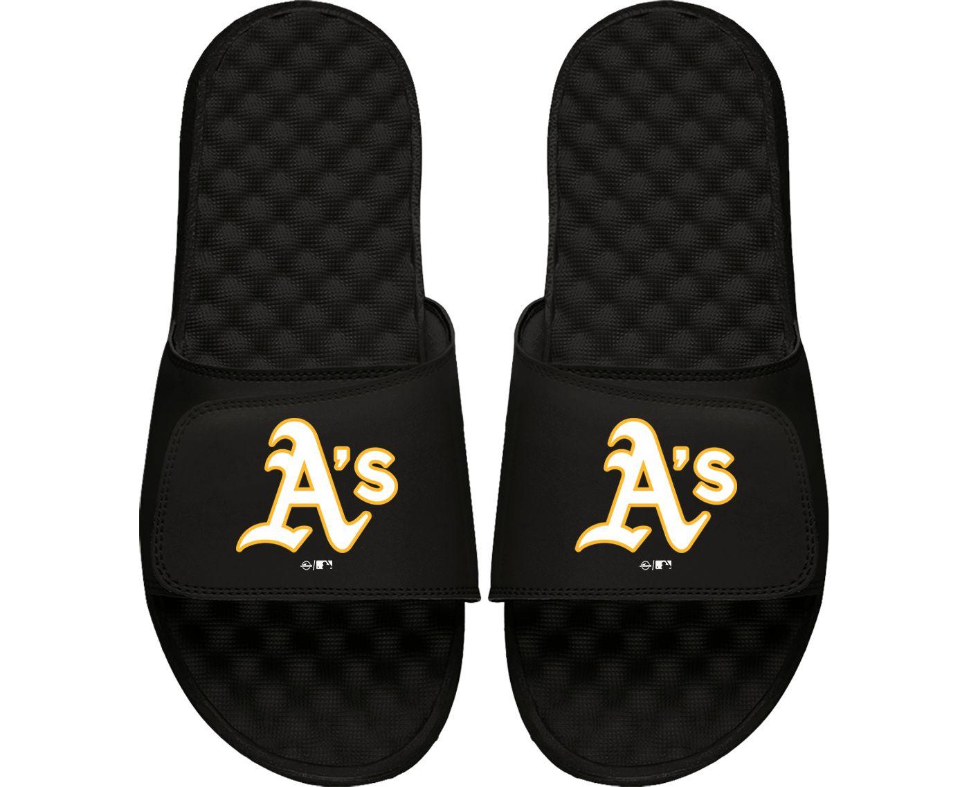 ISlide Oakland Athletics Youth Alternate Logo Sandals