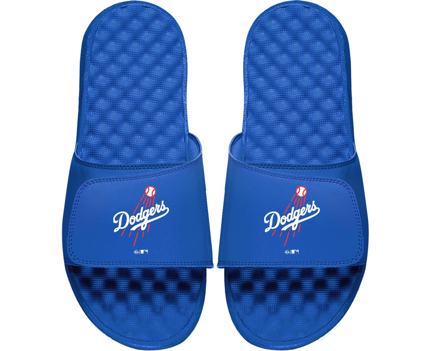 ISlide Los Angeles Dodgers Youth Sandals
