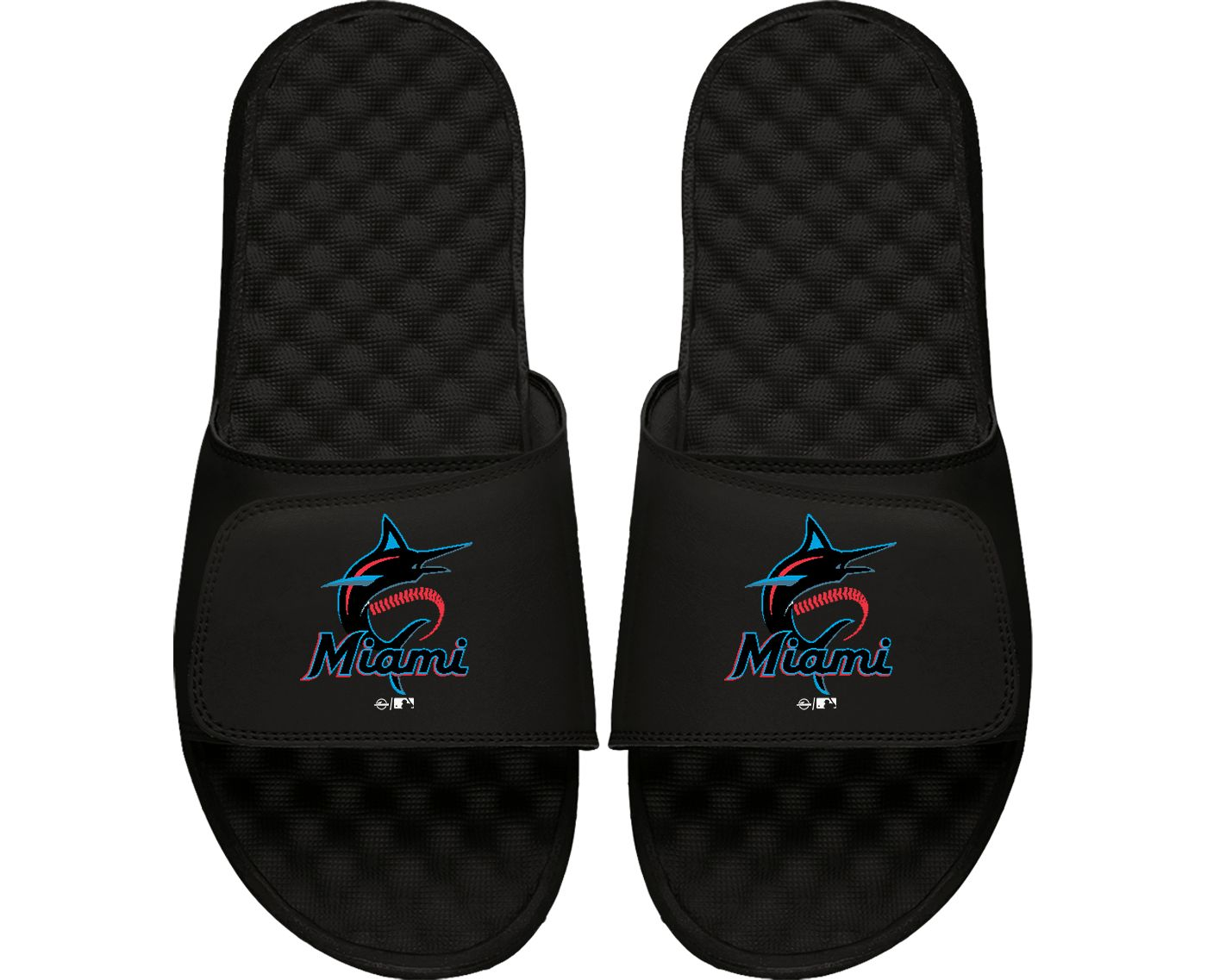 ISlide Miami Marlins Youth Sandals