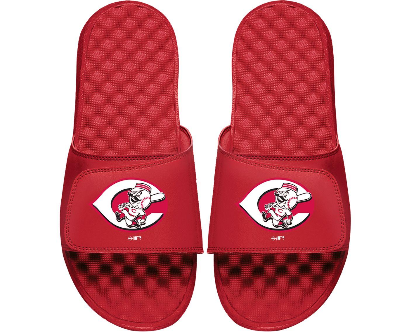 ISlide Cincinnati Reds Youth Alternate Logo Sandals