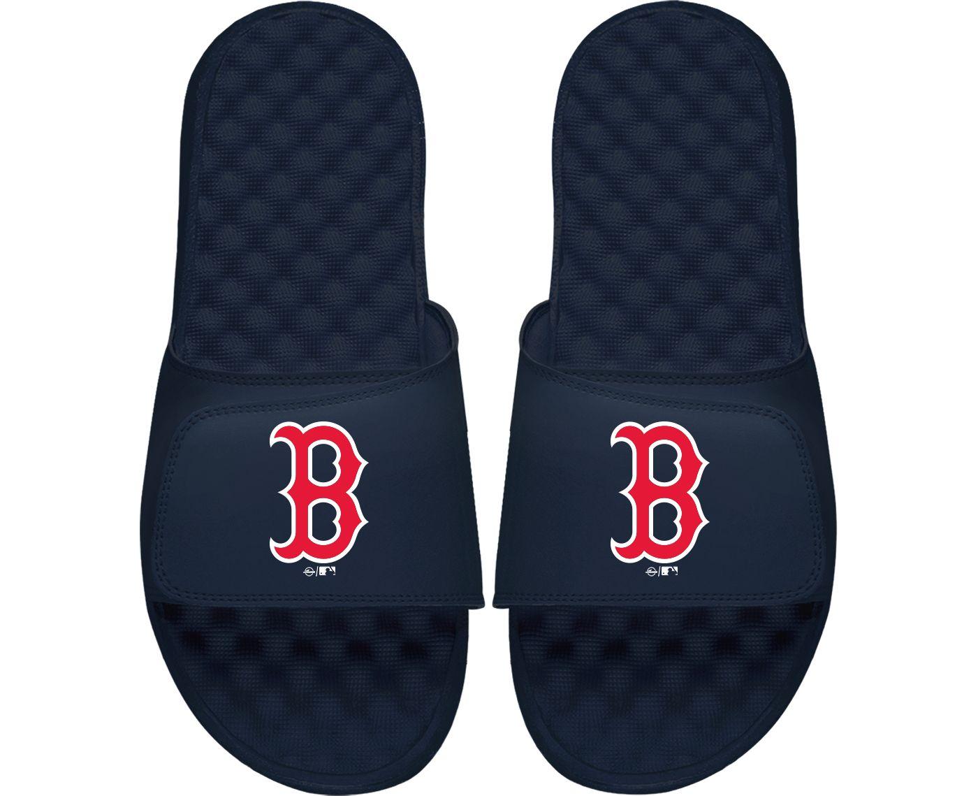 ISlide Boston Red Sox Youth Alternate Logo Sandals