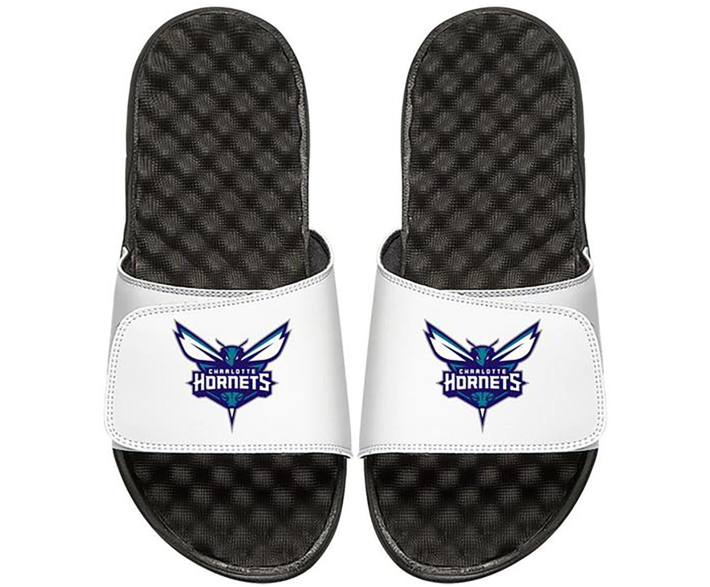 ISlide Charlotte Hornets Youth Sandals