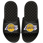ISlide Los Angeles Lakers Youth Sandals