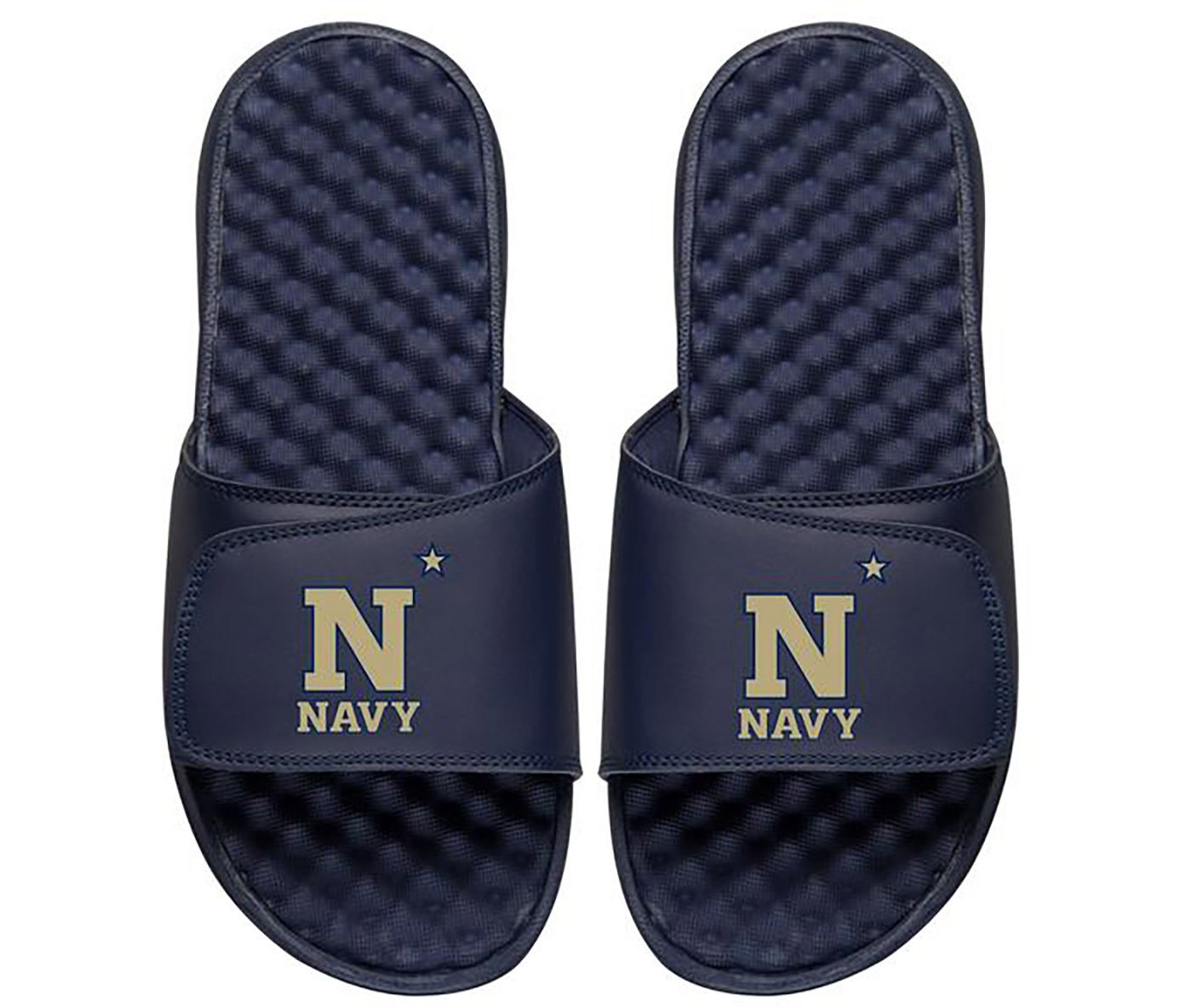ISlide Navy Midshipmen Youth Sandals