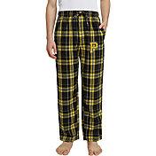 Concepts Sport Men's Pittsburgh Pirates Plaid Flannel Pajama Pants