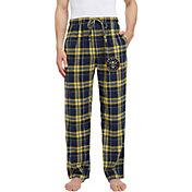 Concepts Sport Men's Denver Nuggets Plaid Flannel Pajama Pants